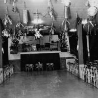 """Primi anni '60. Viserba. Sala da ballo interna della """"Sirenetta"""""""
