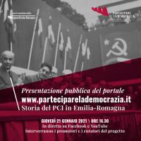 Inaugurazione del portale, 21 gennaio 2021   PDF
