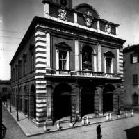 Portale Resistenzamappe.it- Palazzo del Ridotto, foto d'epoca, s.d.