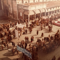 1980. Piazza Trento e Trieste, Ferrara