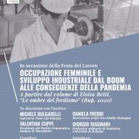 Occupazione femminile e sviluppo industriale dal boom alla pandemia, 30 aprile 2021  PDF