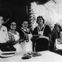 Festa de l'Unità, mercato ortofrutticolo nel 1950