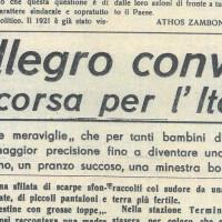"""""""Un allegro convoglio in corsa per l'Italia""""  [""""La Verità"""", 8 febbraio 1947]"""