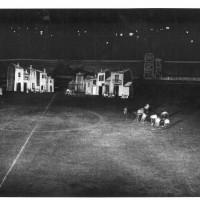"""Scenografie dello spettacolo """"Si svegli il tagliaboschi"""", 1952 [ISMO, AFPCMO]"""