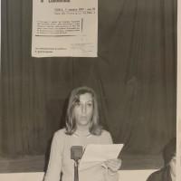 """Archivio fotografico UDI Forlì-Cesena_Convegno provinciale """"Il lavoro femminile e la programmazione economica"""", 7 ottobre 1967"""