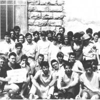 Zocca, 1969. Foto di gruppo alla scuola di partito della FGCI [ISMO, AFPCMO]