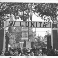 L'ingresso della festa provinciale del 1947 [ISMO, AFPCMO]
