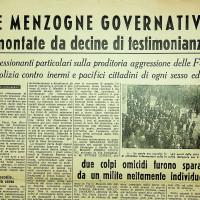 Menzogne governative smontate dai testimoni  [La voce dei lavoratori, numero speciale, 1950]