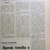 L'Unità Emilia Romagna, 17 maggio 1973, p. 13-articolo relativo all'azione della Giunta Satanassi per la creazione di una zona industriale attrezzata