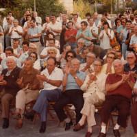 11 luglio 1986. Rimini, INA Casa. I numerosi militanti comunisti presenti il giorno dell'inaugurazione della nuova sede della Federazione