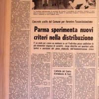 L'Unità Emilia Romagna, 28 febbraio 1974, p. 10-articolo relativo alla discussione del nuovo piano del traffico nelle assemblee di quartiere, febbraio 1974