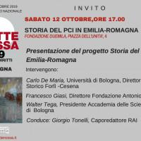 Presentazione del progetto sulla storia del PCI in Emilia-Romagna (Bologna, 12 ottobre 2019)   PDF