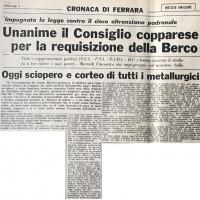 """Articolo de """"L'Unità"""" del 16 giugno 1960"""