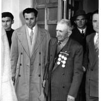 Alcide Cervi all'inaugurazione, 1957 [ISMO, AFPCMO]