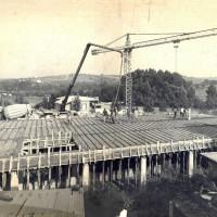 1977. Ospedaletto. Costuzione della Casa del Popolo