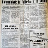 Il Forlivese, 25 febbraio 1970, p.2 -articolo sulla Conferenza degli operai comunisti della Mangelli, 14 febbraio 1970