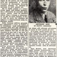 """Articolo de """"La Nuova Scintilla"""" del 2 settembre 1945"""