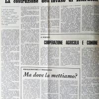L'Unità Emilia Romagna, 25 maggio 1971, p. 6- manifestazione politica unitaria a Forlì per l'immediato avvio dei lavori di costruzione dell'invaso di Ridracoli
