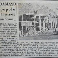 """Articolo de """"La Verità"""" sulla ricostruzione della Casa del popolo di San Damaso  [La verità, 20 settembre 1954]"""