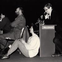 2 febbraio 1991. Rimini, padiglione fieristico. Delegati dell'Emilia-Romagna al XX° Congresso