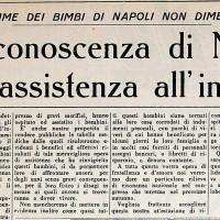 """La riconoscenza di Napoli [""""La Verità"""", 11 ottobre 1947]"""