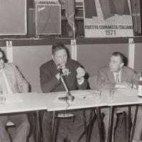 Fondo Fotografico Michele Minisci- convegno del PCI presente Giorgio Amendola, gennaio 1971