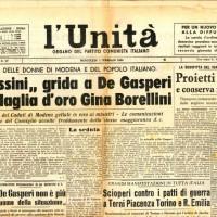 """""""L'Unità"""", 1 febbraio 1950"""