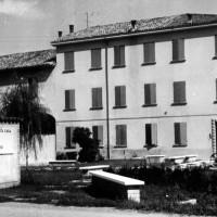 L'ingresso al Museo Cervi presso Gattatico