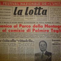 Togliatti a Bologna per il festival dellUnità