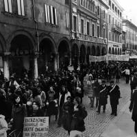 8 marzo 1978. Piazza Trento e Trieste, Ferrara