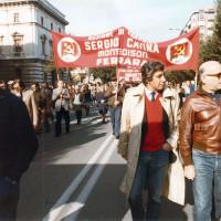 Ferrara. Una manifestazione sindacale