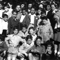 Maggio 1946, bambini di Cassino ospiti nelle famiglie di Lugo