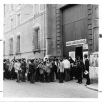 Casa dello Studente, aprile 1973. Convegno Movimento Studentesco
