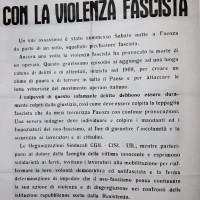 Manifesto unitario dei sindacati