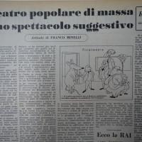 Articolo de «La verità» sul teatro di Massa  [La Verità, 1 novembre 1952]