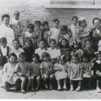 Bambini napoletani all'Asilo delle Fonderie Riunite, Modena, 1948 [Fondo Camera del lavoro di Modena, Archivio Fotografico, Archivio Istituto storico di Modena, Modena]