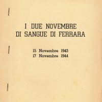 Discorso di Umberto Terracini tenuto il 15 novembre 1959 a Ferrara