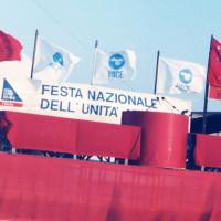 22 giugno-7 luglio 1985. Rimini-Miramare. Ingresso alla Festa Nazionale de L'Unità al mare