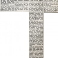 """Articolo de """"L'Unità"""" del 15 giugno 1960"""
