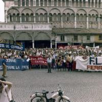 Ferrara. Manifestazione contro il terrorismo
