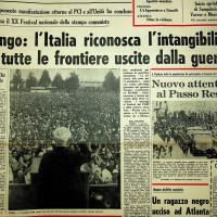 Longo Parla alla festa nazionale del 1966, a Modena  [L'Unità, 12 settembre 1966]
