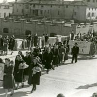 Funerali degli operai uccisi, Modena, 11 gennaio 1950