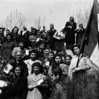 Savarna. Manifestazione donne contro il Patto Atlantico, aprile 1949
