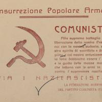 Volantino della Federazione comunista modenese sull'impegno della città nella lotta di liberazione  [ISMO, Cronaca Pedrazzi]