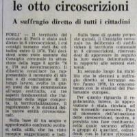 L'Unità Emilia Romagna, 1 luglio 1977, p. 12-articolo reltivo alla costituzione delle circoscrizioni