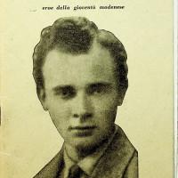 Opuscolo prodotto nel 1955 dalla FGCI Modenese su Sandro Cabassi [ISMO, AFPCMO]