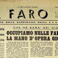 Primo numero de «Il Faro», del 26 novembre 1951 [ISMO, Archivio CGIL]