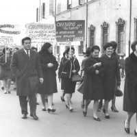 Manifestazione sul lavoro a domicilio [ISMO, AFPCMO]