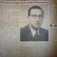 Albertino Masetti nominato segretario La Lotta 24 gennaio 1947