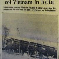 L'Unità Emilia Romagna, 23 settembre 1972, p. 10- articolo relativo ad una manifestazione in solidarietà con il Vietnam alla Taverna Verde, settembre 1972
